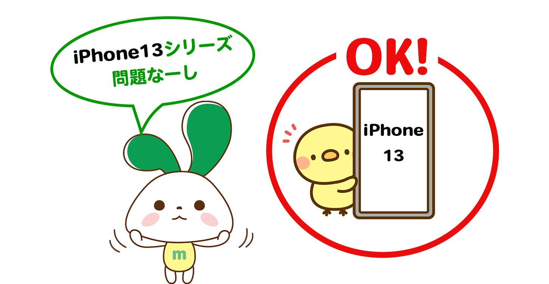 iPhone13 使用問題なし マイネオ